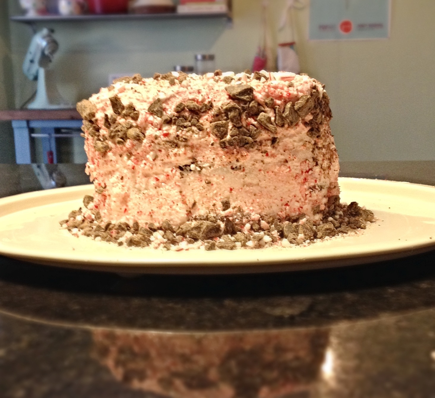 Chocolate-Mint Icebox Cake Recipe — Dishmaps